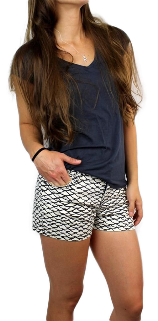 BRAND NEW BETSEY JOHNSON WOMEN'S PREMIUM SEXY FASHION MILK MINI SUMMER SHORTS