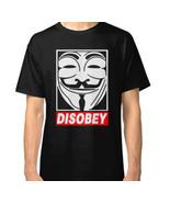 V for Vendetta Disobey T-Shirt Unisex - $18.95+