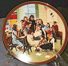 """1990 The Ones We Love """"Story Hour"""" by Norman Rockwell AA20-CP2293 Vintage Commem"""