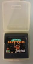 N) Clutch Hitter (Sega Game Gear, 1991) Video Game Cartridge - $9.89