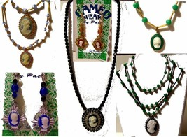 Handstrung Cameo Jewelry by Art as a Way of Life CameoWear - $28.49+