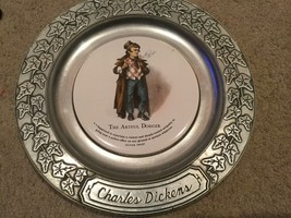 """Vintage RWP Wilton Columbia PA 11"""" Charles Dickens collector plate Artful Dodger - $14.99"""