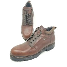 Johnston & Murphy Passport Gore-Tex Mens Sz 13 Brown Leather Lace Up Ank... - $74.27