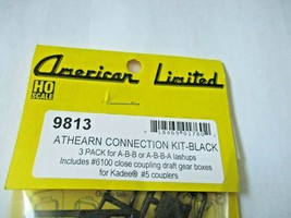 American Limited # 9813 Athearn Operating Diaphragms Black 3 Pack HO-Scale image 1