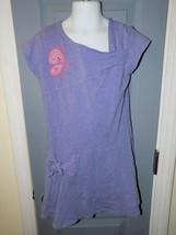 AMERICAN GIRL Purple Butterfly Twist Faux Wrap Knit Dress Size 8 Girl's EUC - $29.00