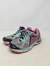 ASICS Womens GT-2000 Running Shoes Blue T550N Low Top Mesh Lace Up Sneak... - $28.70