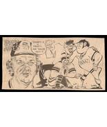 Randy Jones San Diego Padres Sports Cartoon Newspaper Clipping Baseball ... - $14.99