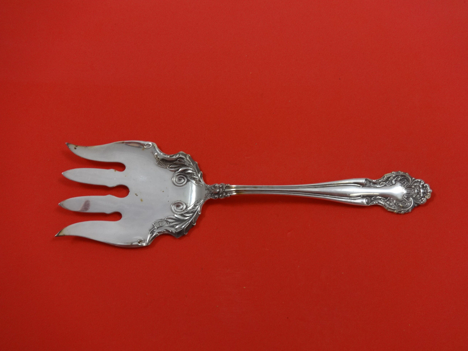 Primary image for Cedric by International Plate Silverplate Fish Serving Fork 8 3/4""