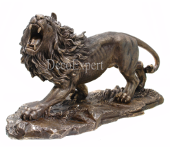 Lion Large Roaring Lion Figurine  ***  Air Shipping Everywhere *** - $149.00