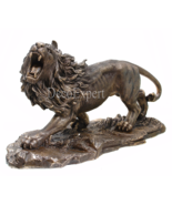 Lion Large Roaring Lion Figurine  ***  Air Shipping Everywhere *** - $179.00