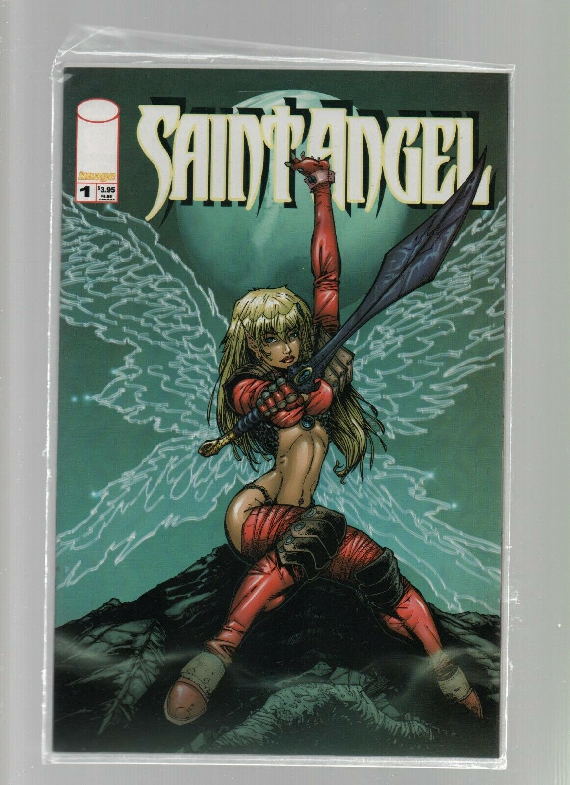 Saint Angel #1A - Image Comics - June 2000 - Karl Altstaetter.