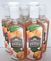 5 Bath & Body Works Deep Cleansing Hand Soap Fresh Picked Market Peach - $29.99