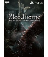 JAPAN Bloodborne Official Final Complete Guide (Strategy Guide Book) - $77.81