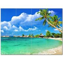 Beach Ocean Ceramic Tile Mural Kitchen Backsplash Bathroom Shower BAZ400037 - $120.00 - $1,440.00
