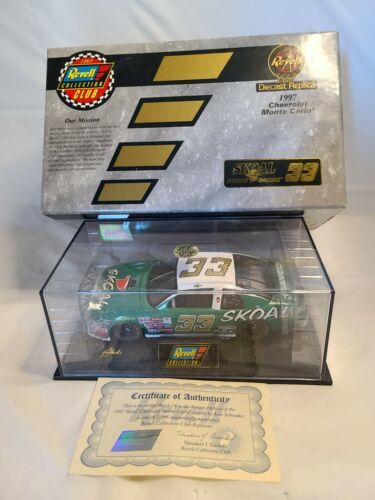 Revell 1:24 Scale Diecast Car #33 Ken Schrader 1997 Skoal Bandit Chevrolet - $23.75