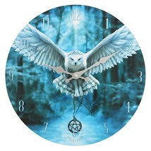 MDF Awake Your Magic Owl Wall Clock 14030 - $18.20
