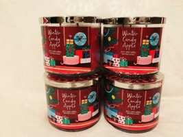 New Lot 10x Bath & Body Works Winter Candy Apple 14.5 OZ 3 Wick Large Candle - $178.10