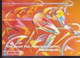 Pan American Games #2247 Ceremony Program Indianapolis Ind 1987 - $7.68