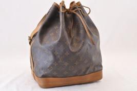 LOUIS VUITTON Monogram Noe Shoulder Bag M42224 LV Auth sa1897 - $420.00