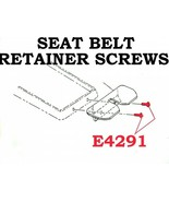 1964-1967 Corvette Screw Set Seat Belt Retainer On Console 2 Pieces - $9.95