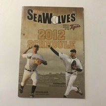 Erie Seawolves AA Double A Minor League Baseball MLB Team Season Schedule 2012 - $49.49
