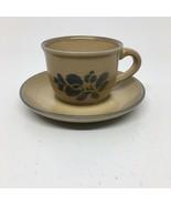 Pfaltzgraff Folk Art Teacup & Saucer - $9.49