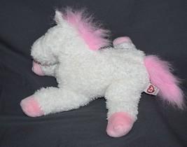 Ty Classic Dreamland Plush White Pink Horse 2007 Stuffed Animal Toy Figu... - $9.74