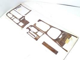 6-pcs Dash Trim Kit Burlwood Wood Grain Interior Accent For 1995 Mazda 626 - $93.49