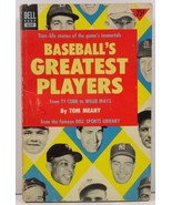 Baseball's Greatest Players by Tom Meany - $3.50
