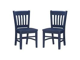 Linon Navy Side Set of 2 Darlin Kids Chair - $173.91