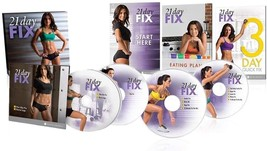 Beachbody 21 Day Fix Workout Program 4 DVD Set with Eating Plan… (21DAY) - $57.99