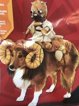 Star Wars Dog Costume BANTHA With Tusken Raider Halloween Rubie's One Size - $18.80