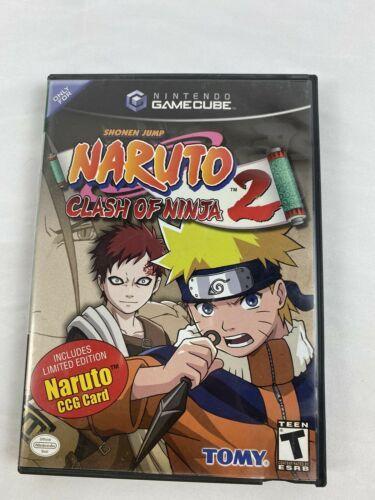 Naruto: Clash of Ninja 2 (Nintendo GameCube, 2006) CCG  Missing