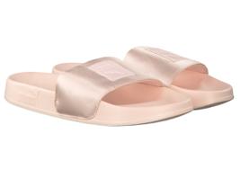 Puma Leadcat Satin Pearl Pink Womens Sandal Slides 365338 02 - $44.95