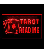 180088B Tarot Reader Psychic Questions Skeptical Past Present LED Light ... - $18.00