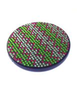 Compact Bling Mirror - Green/ Silver - $16.98