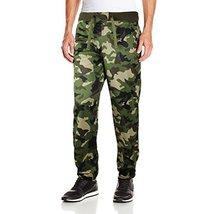 Five Elementz Men's Work Out Gym Camouflage Jogger Sweat Pants (Medium, Wood Cam