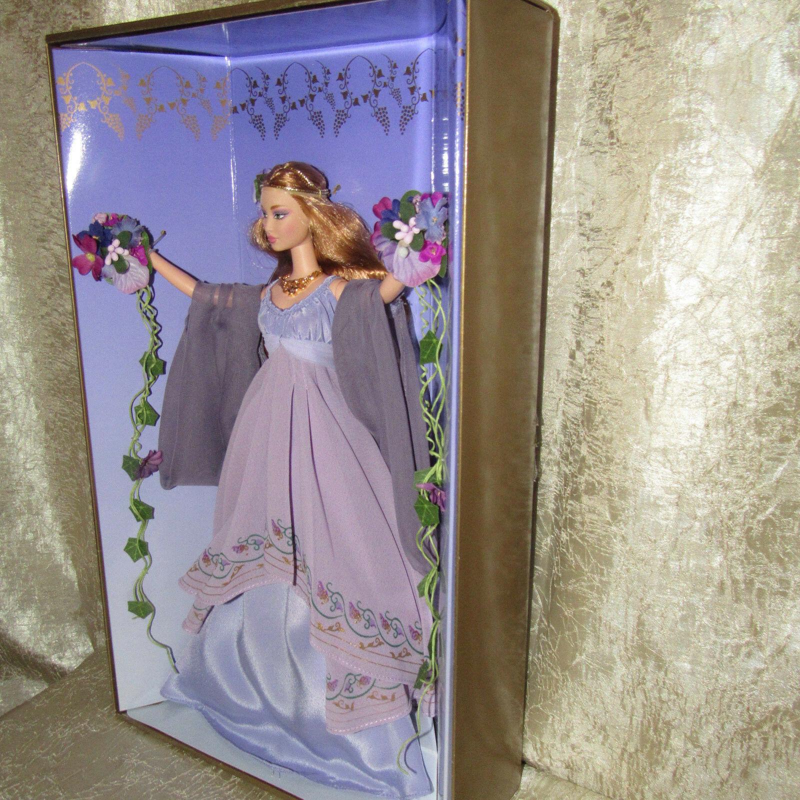 VHTF NRFB GODDESS OF SPRING Collector Barbie Doll Classical Greek LTD ED 2000 image 6