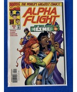 Alpha Flight #5 Mesmero 1997 Marvel comics - $1.85