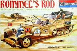 1969 Rommel's Rod Krazy Command Kar #6745 - 0225 1:24 Model Car Kit  - $124.95