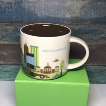 Starbucks Indianapolis Coffee Mug You Are Here Collection 14 Oz Cup - $22.99