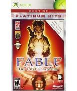 Fable - Best of Platinum - Xbox (Platinum) [video game] - $14.58