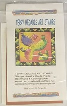 Terry Medaris Art Stamps Cowboy Unmounted Rubber Stamp image 2