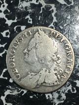 1758 Great Britain 1 Shilling Lot#JM2322 Silver! - $51.43