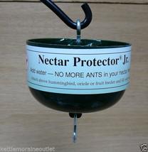 Hummingbird Feeder Ant Moat Nectar Protector Jr Green Save Nectar Keep A... - $18.00
