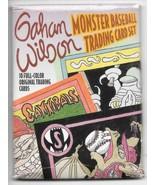 Gahan Wilson Monster Baseball 10 Trading Card Set 1990 Mirage NEW NEAR MINT - $8.79