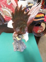 Magnificent Ceramic EAGLE Statue - $22.36