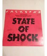 STATE OF SHOCK - MICHAEL JACKSON & MICK JAGGER LP - FREE SHIPPING!! - $11.30