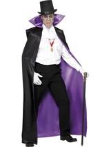 Pezzi Reversibile Mantella, Nero & Viola, Halloween Costume Accessori - $34.23