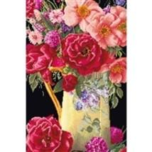 Thea Gouveneur Cross Stitch Kit - Rose Bouquet, Kit #TG301905 - $59.51